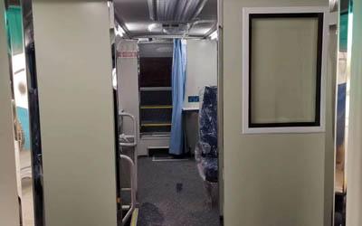 移动CT车肺部扫描设备