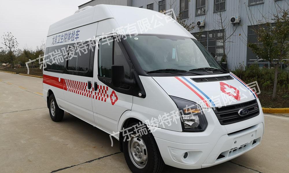 广东特种车辆有限公司出厂健康普查车开往海南