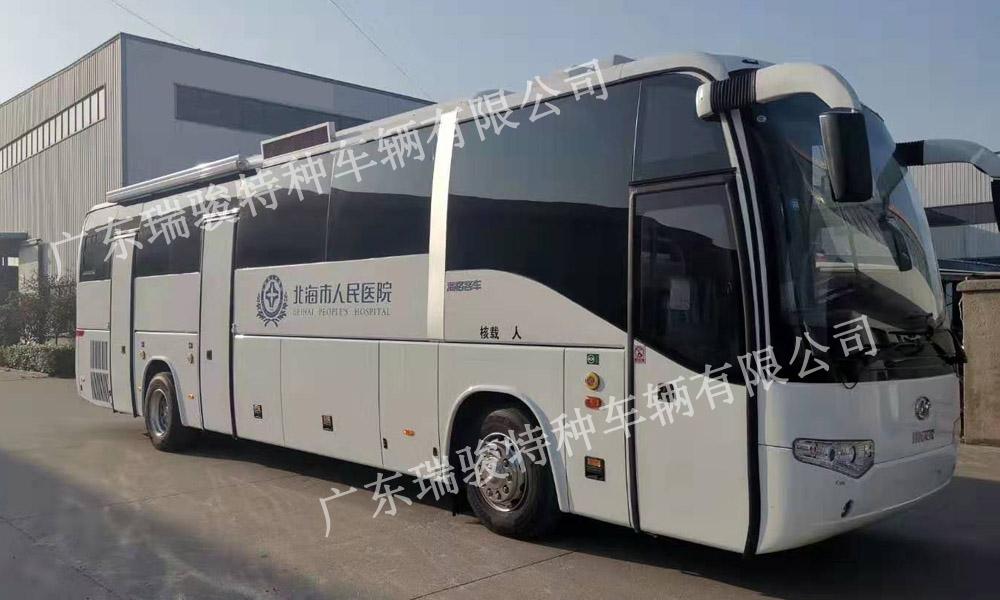 广西北海人民医院12米yabo88app下载车下线验收