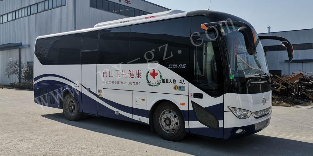 安凯9米yabo88app下载车顺利出厂并通过验收