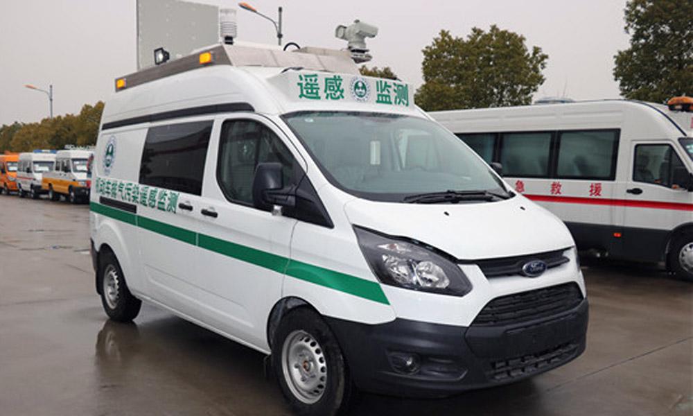 国六机动车尾气遥感检测车-全顺v362