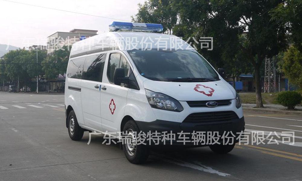 v362新全顺转运型救护车