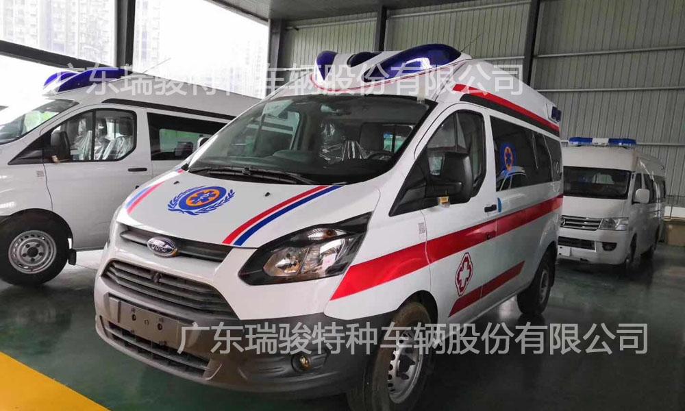 襄州区人民医院两台v362负压救护车